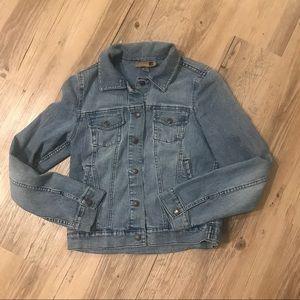 Forever 21 medium jacket denim jean blue vintage